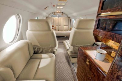Falcon 100 interior