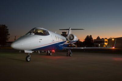Learjet 60XR exterior