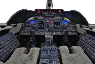 Learjet 60XR panel