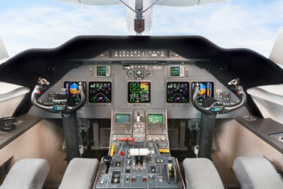 Gulfstream G200 panel