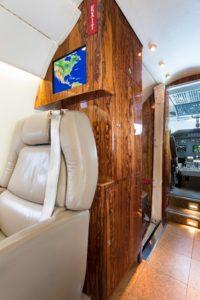Gulfstream G200 interior